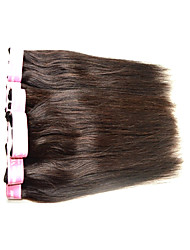 cheap -Human Hair Remy Weaves Straight Indian Hair 400 g 6 Months
