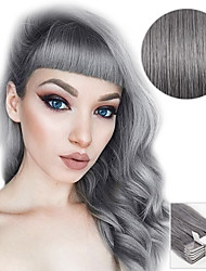 cheap -20pcs-tape-in-hair-extensions-silver-grey-40g-16inch-20inch-100-human-hair-for-women