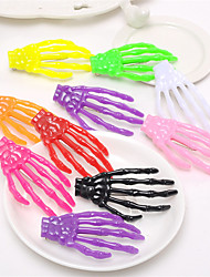 cheap -Hand Bone Hairpin Claw and Skeleton Claw and Skull With the Color of the Japanese Original Night Hair Ornament 10pcs
