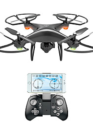 cheap -RC Drone VISUO XS808 4CH 6 Axis 2.4G With HD Camera 2.0MP 720P RC Quadcopter FPV / LED Lights / One Key To Auto-Return RC Quadcopter / Remote Controller / Transmmitter / Camera / Auto-Takeoff / Hover
