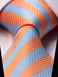 cheap -Men's Party / Work / Casual Necktie - Striped
