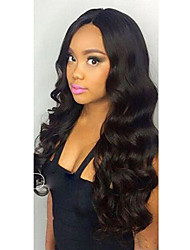 cheap -new body wave 360 lace frontal wig with baby hair 250 density brazilian 360 lace wigs for african americans natural hairline 360 wig no shedding
