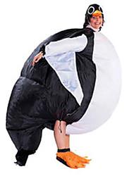 cheap -Penguin Cosplay Costume Halloween Props Inflatable Costume Men's Women's Movie Cosplay Halloween Leotard / Onesie Air Blower Halloween New Year Polyester