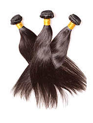 cheap -Human Hair Remy Weaves Straight Peruvian Hair 300 g 1 Year