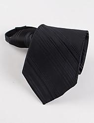Недорогие -мужская вечеринка / вечерняя корейская полоса деловой человек застежка-молния галстук