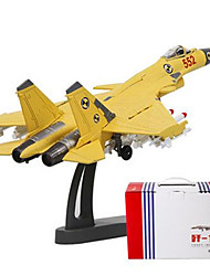 cheap -1:100 Model Building Kit Duck Plane / Aircraft Fighter Aircraft Fighter Simulation Plastic Mini Car Vehicles Toys for Party Favor or Kids Birthday Gift / 14 years+