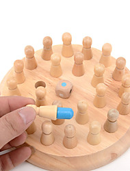 cheap -Board Game Wooden Memory Match Stick Chess Game Wooden Professional Kid's Adults' Unisex Boys' Girls' Toys Gifts