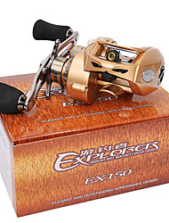 cheap -Fishing Reel Baitcasting Reel 7.0:1 Gear Ratio+9 Ball Bearings Right-handed Bait Casting / Lure Fishing - EX150-R