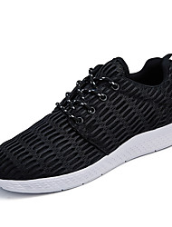 cheap -Men's Comfort Shoes PU Spring / Summer Athletic Shoes Walking Shoes Black / Blue / Gray / Lace-up