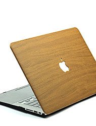 cheap -MacBook Case Wood Grain / wood grain Polycarbonate for MacBook 12'' / MacBook 13'' / MacBook Air 11''