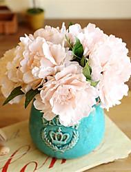 cheap -Silk European Style Bouquet Tabletop Flower Bouquet 5