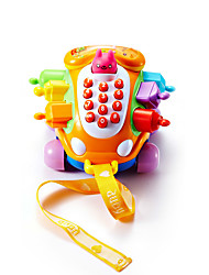 cheap -Building Blocks Pegged Puzzle Toy Phone compatible Plastics Legoing Fun Classic Toy Gift / Kid's