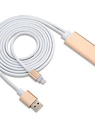 Недорогие -HDMI 2.0 Кабель-переходник, HDMI 2.0 к USB 2.0 Кабель-переходник Male - Male 1080P 2.0m (6.5Ft)