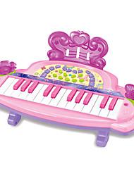 Недорогие -Аксессуары для кукольного домика Электронная клавиатура Пианино Веселье Пластик Детские Девочки Игрушки Подарок
