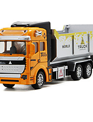 cheap -1:48 Truck Dump Truck Toy Truck Construction Vehicle Toy Car Truck Unisex Boys' Girls' Kid's Car Toys