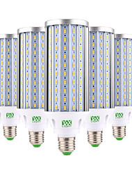 cheap -60W E26/E27 LED Corn Lights 160 SMD 5730 5850-5950 lm Warm White Cold White Decorative AC 85-265 V