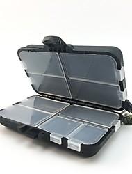 Недорогие -Коробка для рыболовной снасти Коробка для рыболовной снасти Водонепроницаемый Пластик 11 cm*7 см*3.5 cm