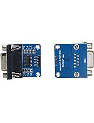 Недорогие -Max232cse чип передачи rs232 к модулю конвертера модуля ttl com (2шт)