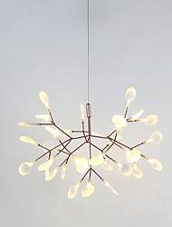 Недорогие -Спутник Люстры и лампы Рассеянное освещение Окрашенные отделки Металл LED 110-120Вольт / 220-240Вольт Теплый белый