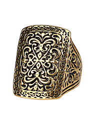 Недорогие -Муж. Кольцо Золотой Серебряный Сплав Геометрической формы Классический армия шотландский Годовщина Бижутерия магия
