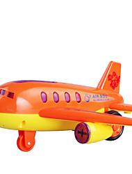 abordables -Accessoire de Maison de Poupées Avion Plastique Enfant Jouet Cadeau