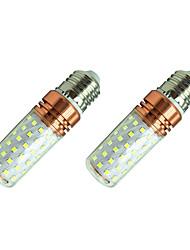 cheap -2pcs 12 W LED Corn Lights 980 lm E27 T 84 LED Beads SMD 2835 Warm White White / 2 pcs