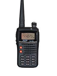 cheap -TYT TH-F5 Walkie Talkie Handheld Dual Band / LCD Display / FM Radio 1.5KM-3KM 1.5KM-3KM 128 1500mAh 5W Walkie Talkie Two Way Radio