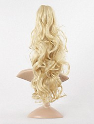 cheap -Ponytails Synthetic Hair Hair Piece Hair Extension Wavy