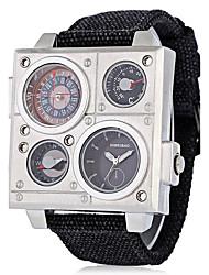 cheap -Men's Sport Watch Military Watch Wrist Watch Quartz Black 30 m Water Resistant / Waterproof Calendar / date / day Creative Analog Casual Fashion Elegant Dress Watch Unique Creative - White Black One