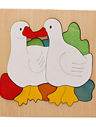 cheap -3D Puzzle Duck Wooden Unisex Toy Gift