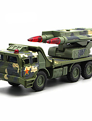 cheap -Toy Car Model Car Truck Military Vehicle Truck Simulation Music & Light Unisex Toy Gift