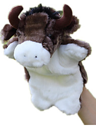 cheap -Finger Puppets Puppets Hand Puppets Bull Cow Cute Animals Lovely Tactel Plush Imaginative Play, Stocking, Great Birthday Gifts Party Favor Supplies Kid's