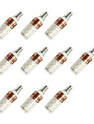 cheap -10pcs 8W 800lm E14 LED Corn Lights T 60 LED Beads SMD 2835 Warm White / Cold White / 10 pcs
