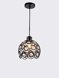 cheap -1-Light OYLYW Bowl Pendant Light Ambient Light Painted Finishes Metal Crystal, Mini Style 110-120V / 220-240V Bulb Not Included / E26 / E27