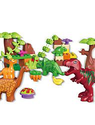 Недорогие -Конструкторы Конструкторы Игрушки Обучающая игрушка Динозавр совместимый Legoing Экологичные Животные Мальчики Девочки Игрушки Подарок