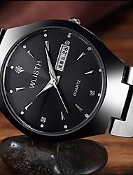 cheap -Men's Fashion Watch Quartz Casual Analog White Black