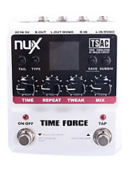 cheap -NUX Time Force Stomp Boxes Multi Digital Delay Guitar Effect Pedals Runs on battery or AC power(The battery is not included)