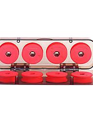 cheap -8pcs Foam Winding Board Fishing Line Shaft Bobbin Spools Red Utility Line Box Fishing Tackle Box