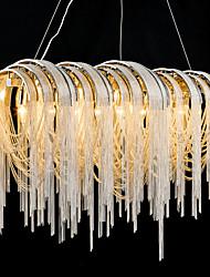 cheap -7-Light 30 cm Dimmable / Designers Pendant Light Metal Electroplated Classic & Timeless 110-120V / 220-240V