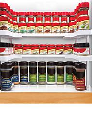 Недорогие -1шт Полки и держатели Пластик Прост в применении Кухонная организация