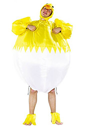 cheap -Chicken Cosplay Costume Halloween Props Masquerade Unisex Movie Cosplay Yellow More Accessories Christmas Halloween Carnival Polyester