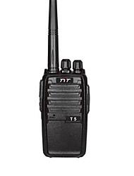 Недорогие -TYT TYT-T5 Радиотелефон Для ношения в руке CTCSS / CDCSS / FM-радио 16 2800mAh 5W Walkie Talkie Двухстороннее радио