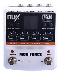 cheap -NUX Mod Force Multi Modulation Effects Dual Engine with Series/Parallel Switchab Runs on battery or AC power(The battery is not included)