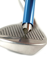 cheap -Golf Iron Club Groove Sharpener Portable Lightweight Cleaning Care Stainless Steel for Golf 1pc