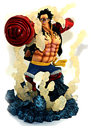 cheap -Anime Action Figures Inspired by One Piece Monkey D. Luffy PVC(PolyVinyl Chloride) 19 cm CM Model Toys Doll Toy