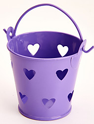 cheap -Cylinder Metal Favor Holder with Favor Tins and Pails - 6