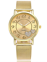cheap -Women's Wrist Watch Gold Watch Japanese Quartz Silver / Gold Casual Watch Analog Ladies Charm Casual Fashion Elegant - Gold Silver One Year Battery Life / SSUO LR626