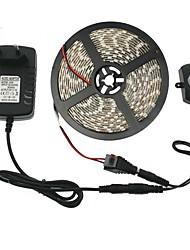cheap -5M LED Light Strips LED Strip Set Tiktok Lights Automatic PIR Motion Sensor Switch DC12V SMD5050 10mm LED Under Bed Light Bedroom Night Lights WhiteWarm White 3A Power Supply (EUAUUKUK)