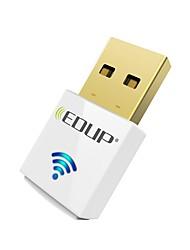 Недорогие -Edup usb wirelss wifi адаптер 600mbps двухполосный 11ac мини беспроводной сетевой карты dongle ep-ac1619