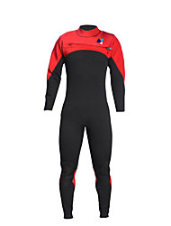 cheap -LAYATONE Men's Full Wetsuit 3mm Diving Suit Long Sleeve Diving Solid Colored Plain Spring &  Fall / Stretchy